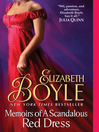 Memoirs of a Scandalous Red Dress (eBook): Bachelor Chronicles, Book 5